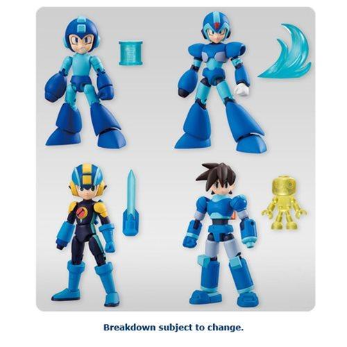 "Mega Man ""66 Action"" Mini-Figures Display Box – Free Shipping"