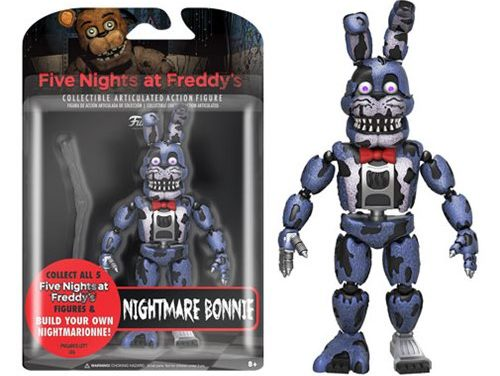 Five Nights at Freddy's Nightmare Bonnie 5-Inch Action Figure
