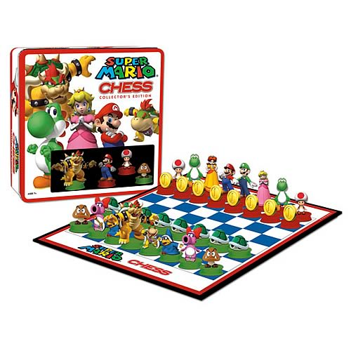 Super Mario Chess Game Collector's Edition