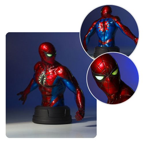 Spider-Man Mark IV Suit Mini Bust – Free Shipping