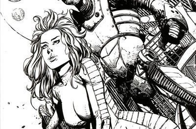 Barbarella #8 (Cover F – Retailer 10 Copy Incentive Variant)