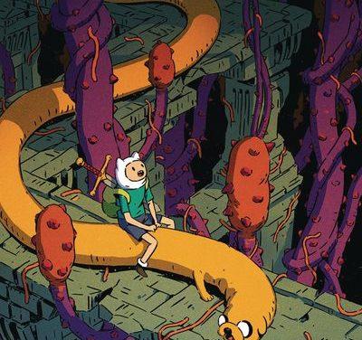 Adventure Time Comics #25 (Subscription Bak Variant)