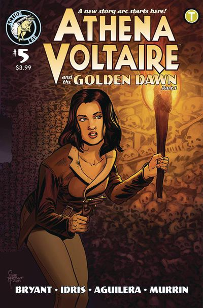 Athena Voltaire 2018 Ongoing #5 (Cover A – Bryant)