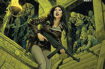 Athena Voltaire 2018 Ongoing #5 (Cover B – Johnson)