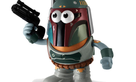 Star Wars Boba Fett Poptaters Mr. Potato Head