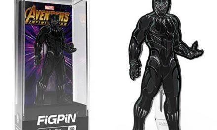 Marvel Avengers: Infinity War Black Panther FiGPiN Enamel Pin