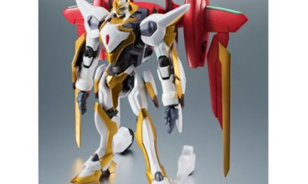 Code Geass Lancelot Air Cavalry Robot Spirits Action Figure