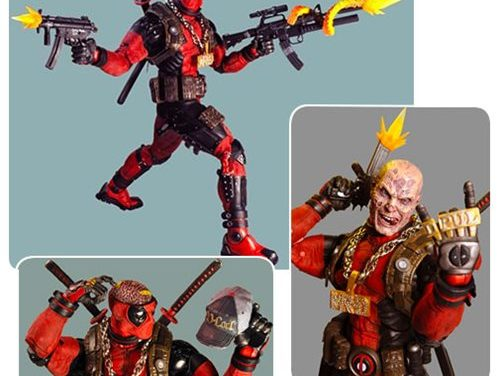 Marvel Classics Ultimate Deadpool 1:4 Scale Action Figure – Free Shipping