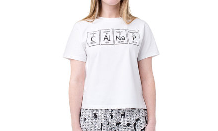 Periodic CAtNaP Pajama Shirt and Short Set