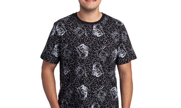 Star Wars Vader Constellation T-Shirt