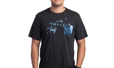 Star Wars TIE Fighters Starfield T-Shirt