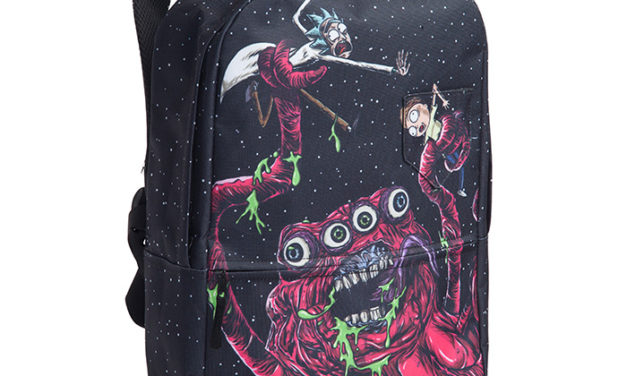 Rick and Morty Space Monster Backpack