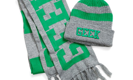 Geek Varsity Beanie and Scarf Set