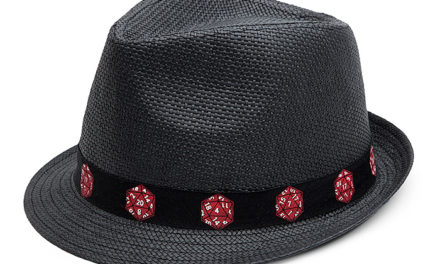 Crit Success d20 Banded Trilby