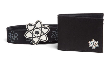 Atomic Belt and Wallet Gift Set