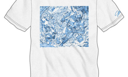 Jim Lee Comic Con Exclusive Pencil Art T-Shirt
