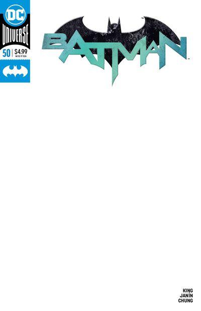 Batman #50 (Blank Variant)