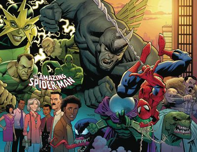 Amazing Spider-Man #1 (Ottley Virgin Variant)