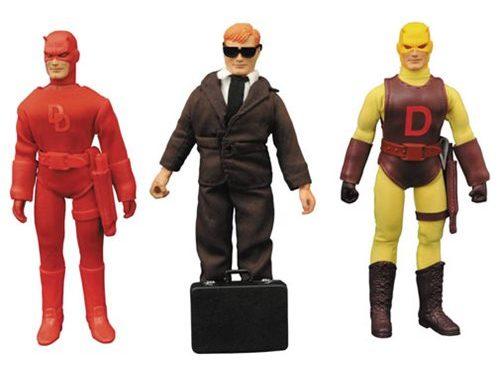 Daredevil 8-Inch Retro Action Figure Set