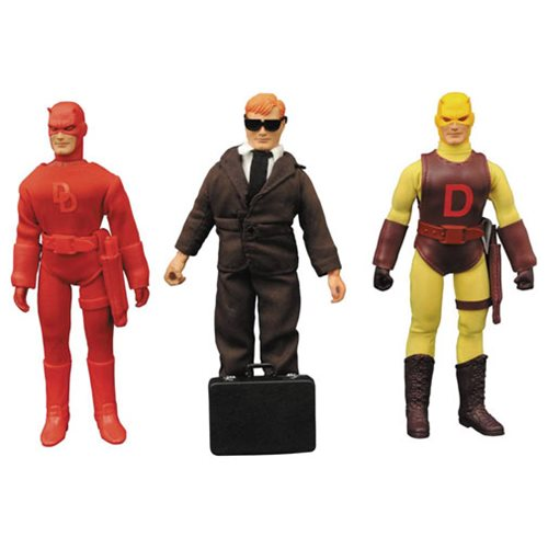Daredevil 8-Inch Retro Action Figure Set