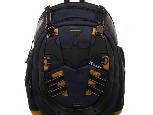Batman Inspired Built Up Backpack – Free Shipping