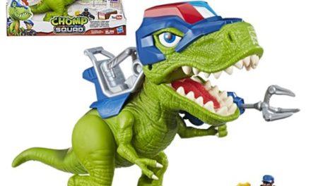 Chomp Squad Playskool Heroes Troopersaurus and Bobby Badge
