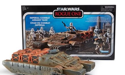 Star Wars The Vintage Collection Rogue One Imperial Combat Assault Hovertank Vehicle – Free Shipping