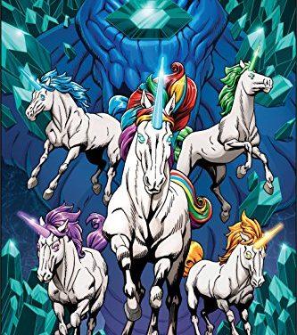 Unicorn Melee: Fantasy Graphic Novel