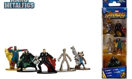 Avengers: Infinity War Nano Metalfigs Die-Cast Metal Mini-Figures Wave 2 5-Pack