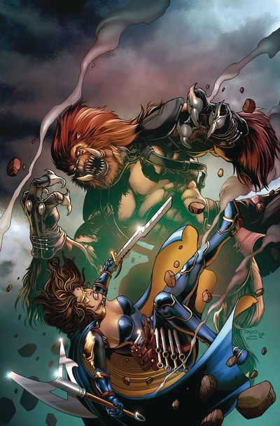 Belle Beast Hunter #4 (of 6) (Cover B – Dazo)