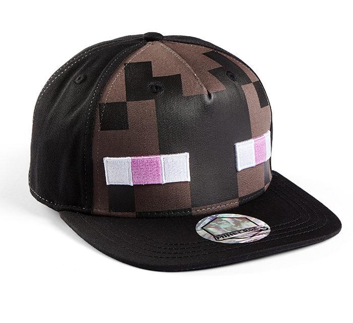 Minecraft Enderman Mob Snapback Cap