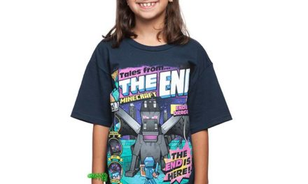 Minecraft Tales from the End Youth T-Shirt