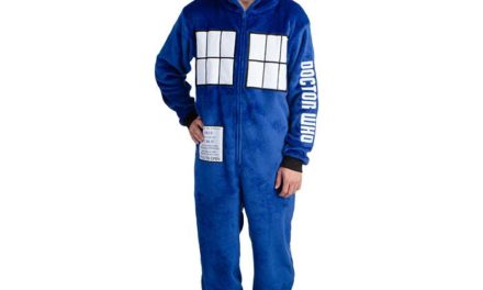 Doctor Who TARDIS Hooded Lounger
