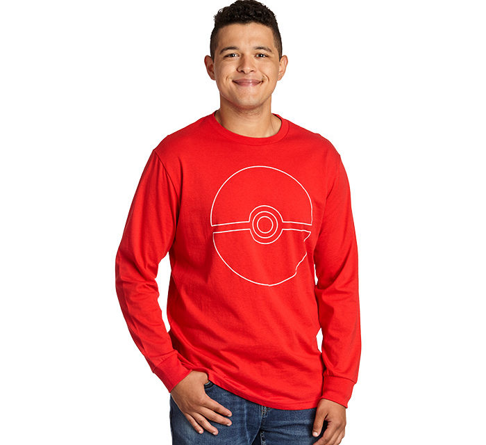 Pokémon Poké Ball Long Sleeve T-Shirt