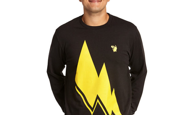 Pokémon Pika Bolt Long Sleeve T-Shirt