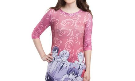 Ouran Host Club T-Shirt Dress