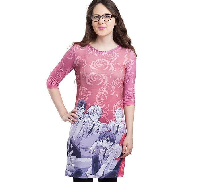 Ouran Host Club T-Shirt Dress