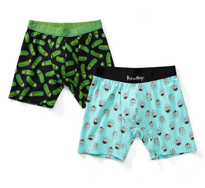 Rick and Morty Boxer Brief 2pk
