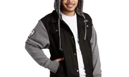 Dark Mysteries Hooded Denim Jacket