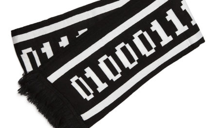 Binary Geek Knit Scarf