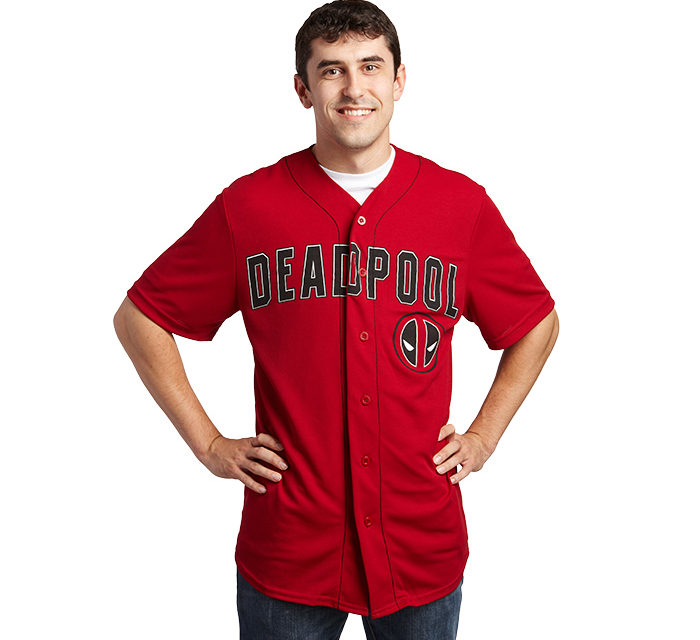 Deadpool Baseball Jersey