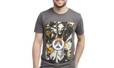 Overwatch Cracked Glass T-Shirt