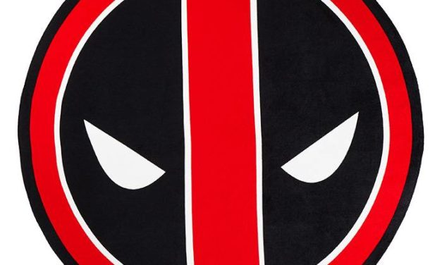 Marvel Deadpool 50″ Round Beach Towel