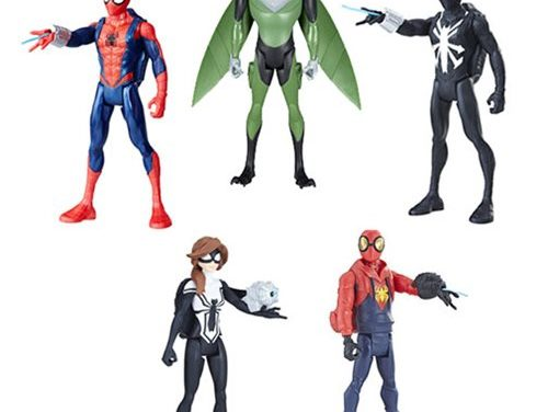 Spider-Man Quick Shot 6-inch Action Figures Wave 3 Case – Free Shipping