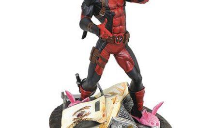 Marvel Gallery Taco Truck Deadpool Statue