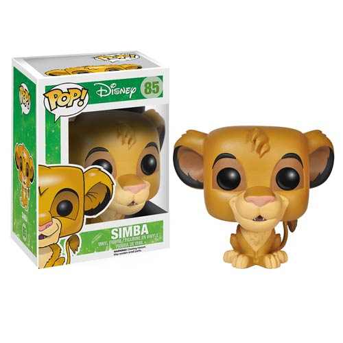 The Lion King Simba Pop! Vinyl Figure