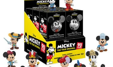 Mickey's 90th Mini Vinyl Figure Display Case – Free Shipping