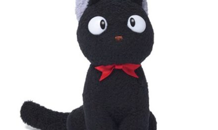Kiki's Delivery Service Jiji Seated Plush