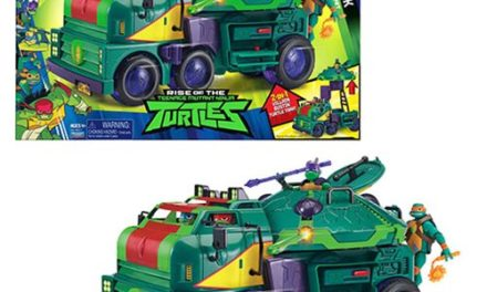 Teenage Mutant Ninja Turtles Turtle Tank Vehicle – Free Shipping