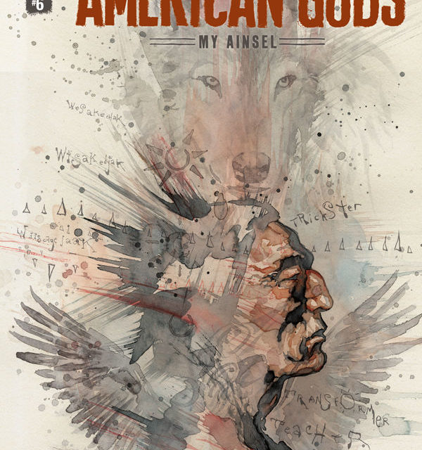 American Gods: My Ainsel #6 (David Mack Variant Cover)